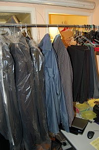Ironing service (jackets, shirts and trousers