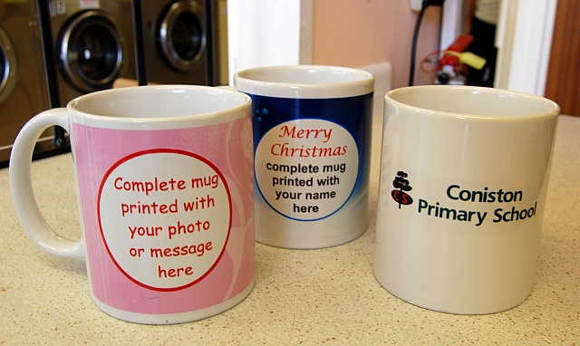 Personalised mugs and candles available in Patchway, Bristol
